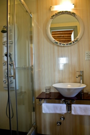 Superior Junior Suite, Petropoulaki Tower: Gytheio hotels Mani rooms guesthouses accommodation Peloponnese
