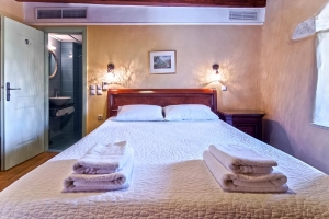 Double Room, Petropoulaki Tower: Gytheio hotels Mani rooms guesthouses Tower accommodation Peloponnese