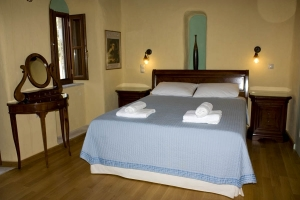 Junior Suite, Petropoulaki Tower: Gytheio hotels Mani rooms guesthouses Tower accommodation Peloponnese